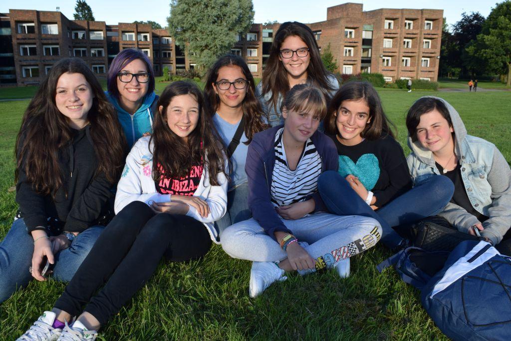 Imagen estudiantes del cursos de ingles en Hull