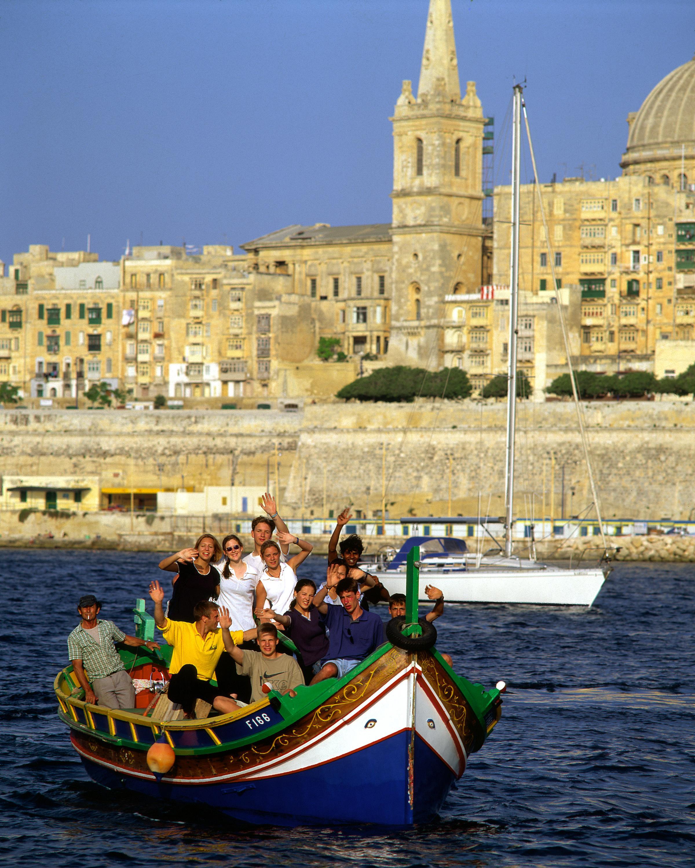 Actividad curso de inglés para adultos en Malta